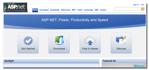 asp net functionality and power combined, Powerpoint templates