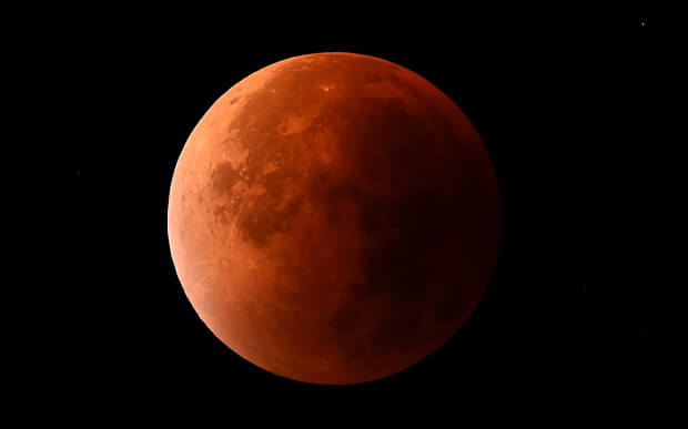 Lunar Eclipse in Vancouver - software development company