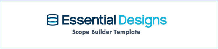 scope builder template - scope document template