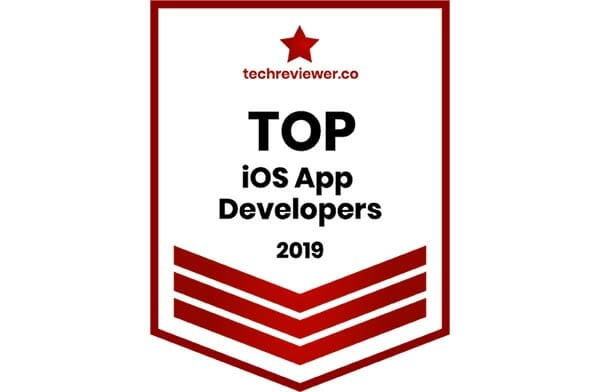 techreviewer top ios app developer 2019 badge